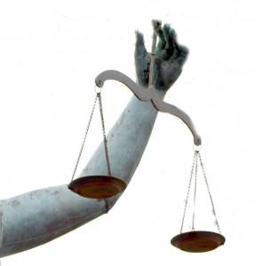 Imagen de estatua representando la justicia