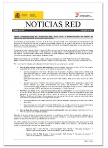 Boletin Noticias RED 7/2011