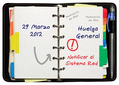 Huelga general, 29 de Marzo