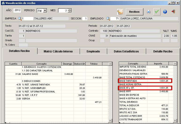 Excel 2007 Calculo De Recibo De Honorarios Youtube Calculo